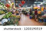 bangkok  thailand   oct 12 ... | Shutterstock . vector #1203190519