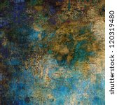 Art Abstract Grunge Textured...