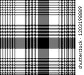 black and white fabric texture... | Shutterstock .eps vector #1203198889