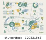 ecologic info graphics vector... | Shutterstock .eps vector #120321568