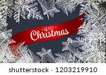frost glass pattern. winter... | Shutterstock .eps vector #1203219910