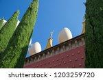figueras  spain   june 15  2014 ... | Shutterstock . vector #1203259720