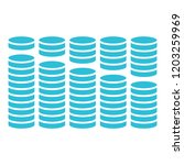 database or money icon  server...