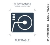 turntable icon. high quality... | Shutterstock .eps vector #1203270289