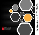 eps10 vector abstract geometric ... | Shutterstock .eps vector #120327880