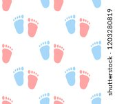 Vector Semaless Pattern Of Baby ...