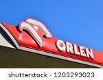 warsaw  poland   october 10... | Shutterstock . vector #1203293023