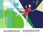 abstract vector illustration of ...   Shutterstock .eps vector #1203294199