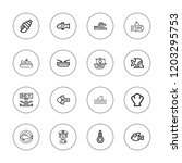 marine icon set. collection of...   Shutterstock .eps vector #1203295753