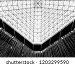 minimal abstract architectural... | Shutterstock . vector #1203299590