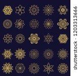 vector set of 25 elements. line ...   Shutterstock .eps vector #1203313666