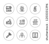manual icon set. collection of... | Shutterstock .eps vector #1203331396