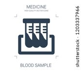 blood sample icon. high quality ...   Shutterstock .eps vector #1203337966