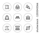 united icon set. collection of... | Shutterstock .eps vector #1203343366