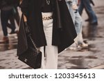 october 2  2018  paris  france  ... | Shutterstock . vector #1203345613
