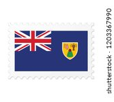 turks and caicos islands flag... | Shutterstock .eps vector #1203367990