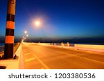empty road at sunset | Shutterstock . vector #1203380536