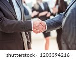 concept of cooperation  ... | Shutterstock . vector #1203394216