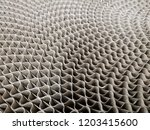 close up photo of corrugated... | Shutterstock . vector #1203415600
