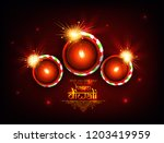 creative abstract or poster ... | Shutterstock .eps vector #1203419959