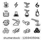 symbols of different sugar... | Shutterstock .eps vector #1203435046