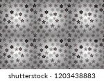 flowers on white  gray and... | Shutterstock . vector #1203438883
