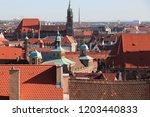 nuremberg  germany. old town... | Shutterstock . vector #1203440833