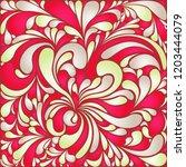 silk texture fluid shapes ... | Shutterstock .eps vector #1203444079