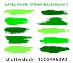 hipster label brush stroke... | Shutterstock .eps vector #1203496393