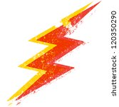 a destroyed style lightning... | Shutterstock .eps vector #120350290