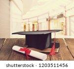 academic college degree...   Shutterstock . vector #1203511456