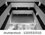 abstract architectural design.... | Shutterstock . vector #1203532510