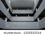 abstract architectural design.... | Shutterstock . vector #1203532516