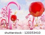 candy land  high quality 3d...   Shutterstock . vector #120353410
