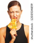food seduction concept.... | Shutterstock . vector #1203534859