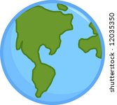 planet earth | Shutterstock .eps vector #12035350