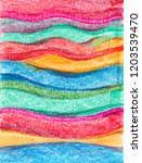 colorful stripes of color... | Shutterstock . vector #1203539470