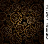 seamless decorative circle... | Shutterstock .eps vector #120354418