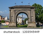 aosta   italy   july 2015 ... | Shutterstock . vector #1203545449