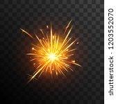 sparkler effect. firework....   Shutterstock .eps vector #1203552070