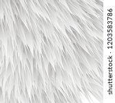 synthetic fur vector texture.... | Shutterstock .eps vector #1203583786