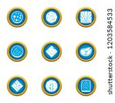 component for burger icons set. ...   Shutterstock .eps vector #1203584533