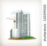 building  vector | Shutterstock .eps vector #120359320