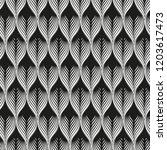 vector seamless geometric... | Shutterstock .eps vector #1203617473