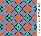sharp angles geometric tile... | Shutterstock .eps vector #1203671440