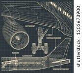 vector illustration of a... | Shutterstock .eps vector #1203673900