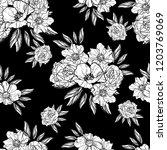 abstract elegance seamless... | Shutterstock . vector #1203769069