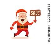 cartoon santa claus for your...   Shutterstock .eps vector #1203810583