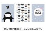 cute vector print in...   Shutterstock .eps vector #1203813940