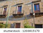 guadalajara streets in historic ...   Shutterstock . vector #1203815170